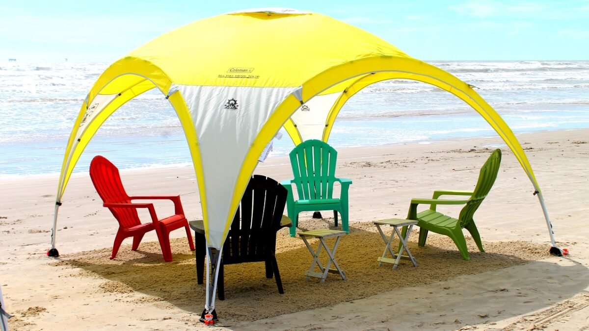 Beach Sun Shade Canopy As A Staple Requirement For Beach Camping
