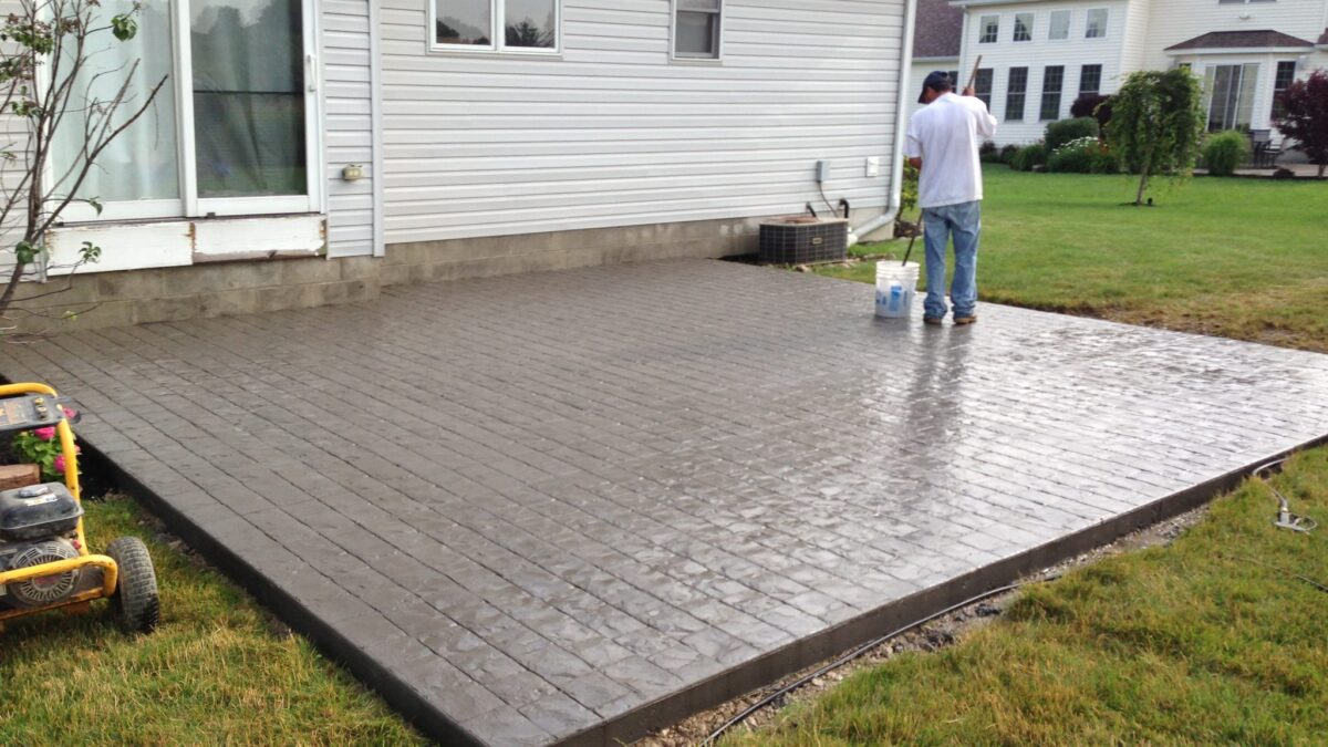 All You Need To Know More About The Stamped Concrete Pool Decks?